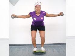 MFT Trim Disc Kniebeugen Training