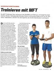 Sportsfreund Artikel: Koordination trainieren mit MFT