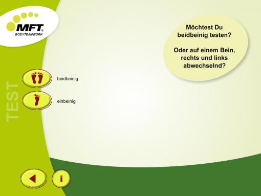 MFT Challenge Disc App - Balance-Training einbeinig oder beidbeinig