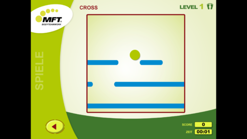 MFT Challenge Disc App - Trainingsspiel Cross