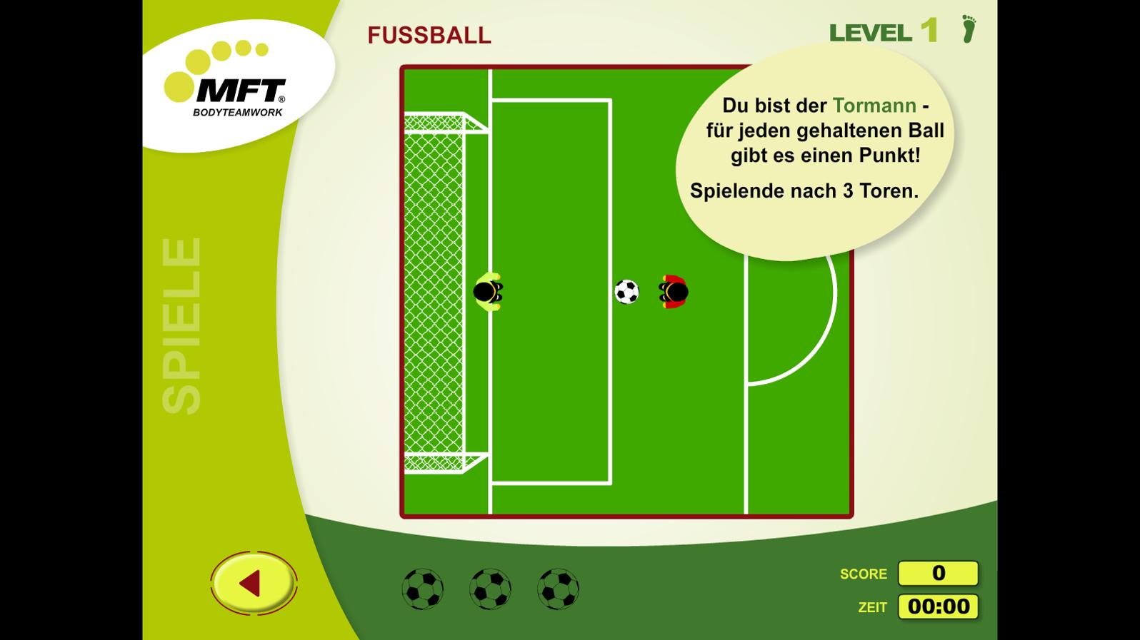MFT Challenge Disc App - Trainings-Spiel Fußball