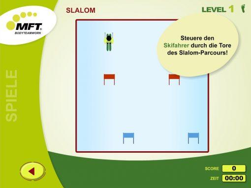 MFT Challenge Disc App - Trainingsspiel Slalom