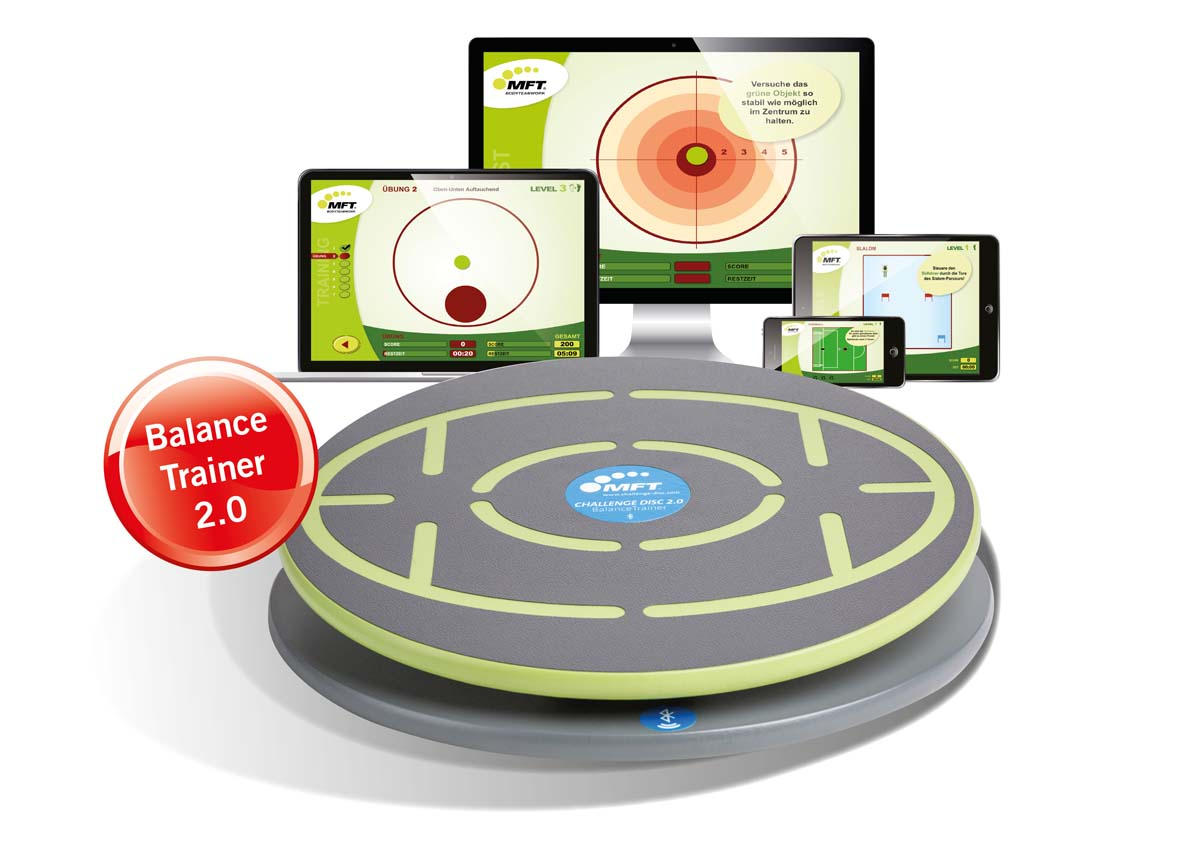 MFT Challenge Disc - digitales Balance-Board mit Software/App