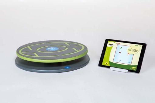 Spielerisches Balance-Training mit der MFT Challenge Disc App