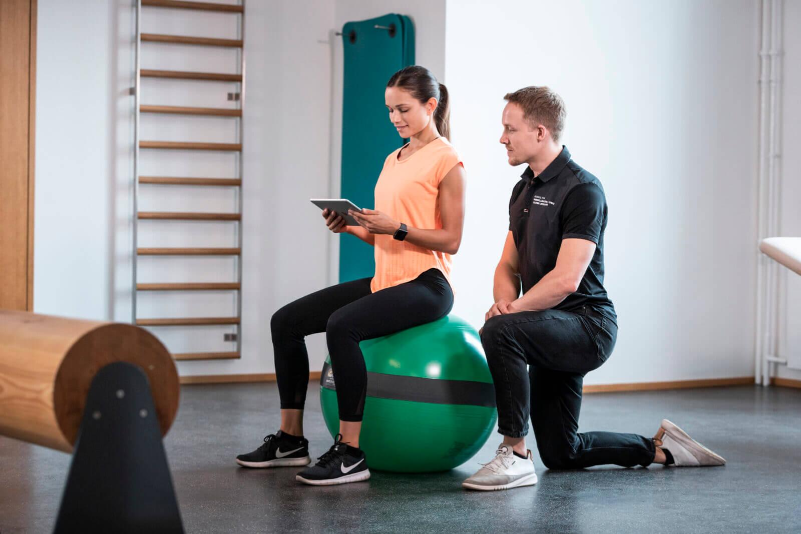 MFT Digital Line - smarte Balance Boards und Sitzbälle