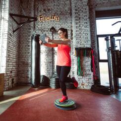 MFT Challenge Disc Einbein-Training